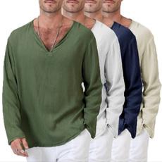 vnecktshirt, Mens T Shirt, summer t-shirts, solidcolortshirt