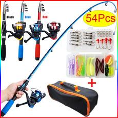 fishinggear, fishingkit, telescopicfishingrod, rodreel