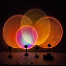 rainbow, Coffee, led, projector