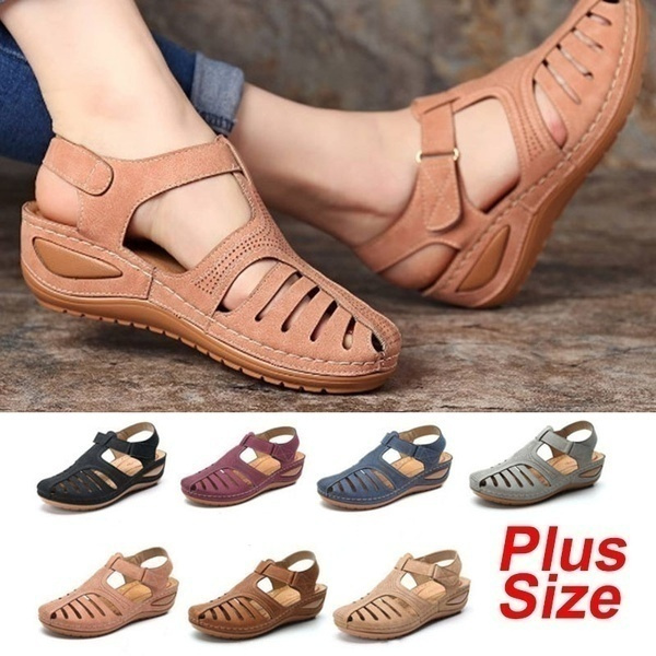 Summer, Head, Plus Size, shoes for womens
