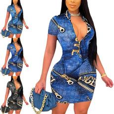 Summer, dressesforwomen, Print Dresses, Dress