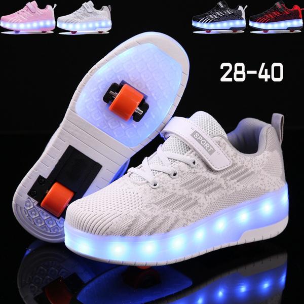 Wheels, Sneakers, rollershoe, led