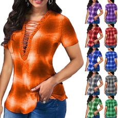 blouse, plaid shirt, Fashion, Shirt