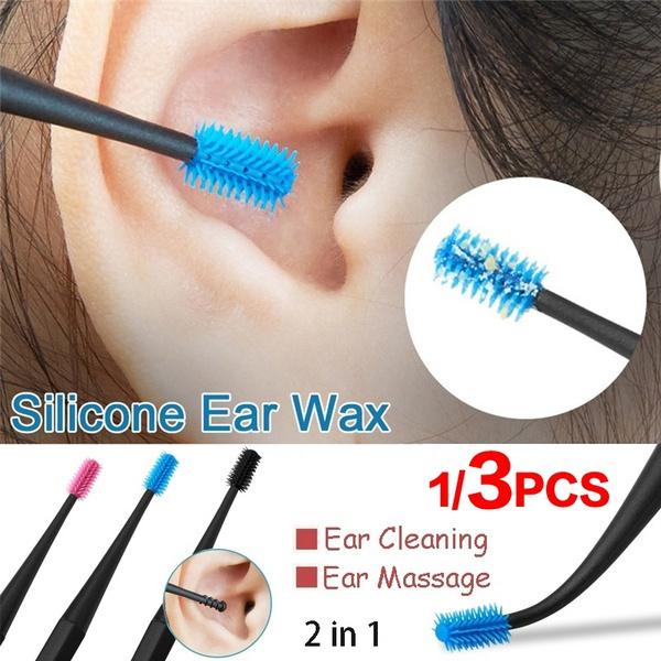 earcleaner, Silicone, earpick, doubleended