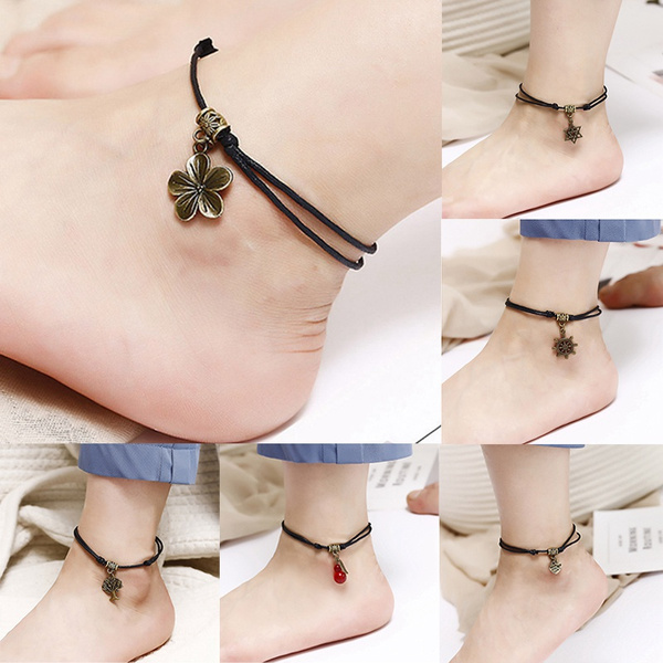 beachankletchain, barefootchain, Fashion, Jewelry