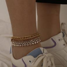 Anklets, Chain, Bracelet, Beaded