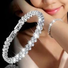DIAMOND, Jewelry, Crystal, birthdaypartybracelet