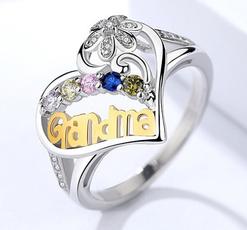 Sterling, Heart, elegantearringearring, 925 sterling silver