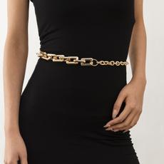 Fashion, Chain, Women's Fashion, bellychain