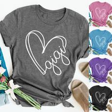 Summer, Shorts, Love, Graphic T-Shirt