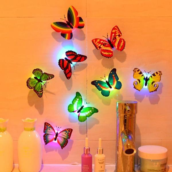 ledbutterfly, wallbutterfly, Indoor, butterfly