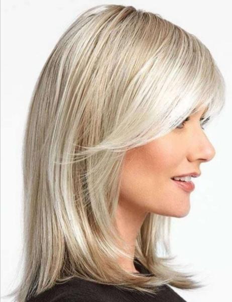 wig, bangswig, goldenwig, Long wig