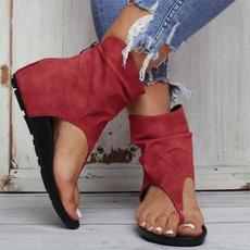 Summer, Sandals, romanwomensshoe, leather