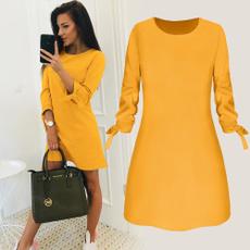 mediumlongstyle, long skirt, Office, Sleeve