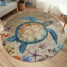 Turtle, Marine, starfish, playmat
