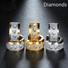 weightlossearring, Steel, DIAMOND, stainless steel earrings