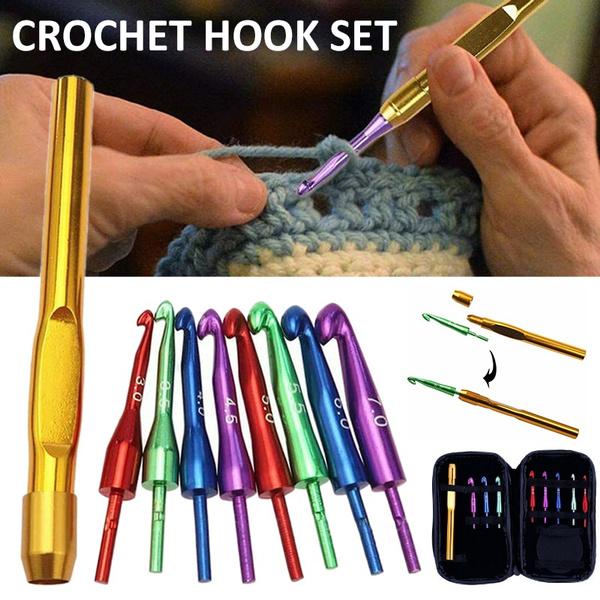 Head, Aluminum, knittingneedle, crochethookset