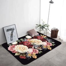 hallway, Bathroom, Flowers, living room