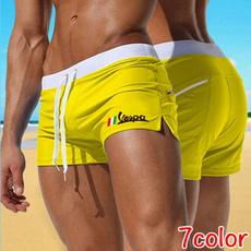 Summer, cottonshort, elastic waist, drawstringshort