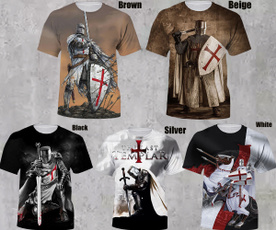 Funny, knightstemplar, 2021summer, Shirt
