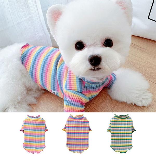 cute, printed, summerdogclothe, Colorful