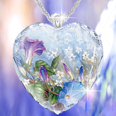 Heart, exquisite jewelry, 925 sterling silver, femaleromance
