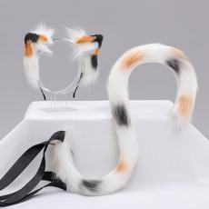 partycosplayheadrim, halloweenheadband, fur, plushfluffyhairhoop