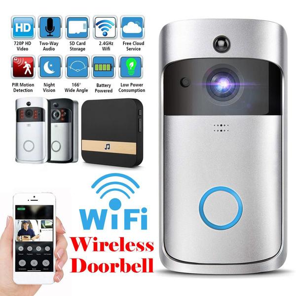 Home, Door, wirelessdoorbellforhome, Bell