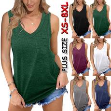 Summer, Vest, Plus size top, tunic
