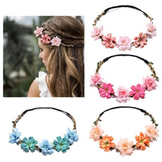 Charm, Flowers, Head Bands, Princess