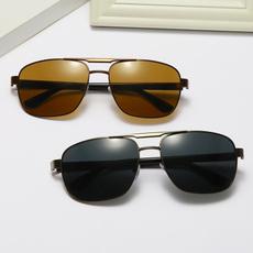 Fashion, fishing sunglasses, metal sunglasses, Men