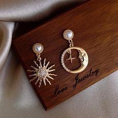 Fashion, Jewelry, Pearl Earrings, Earring