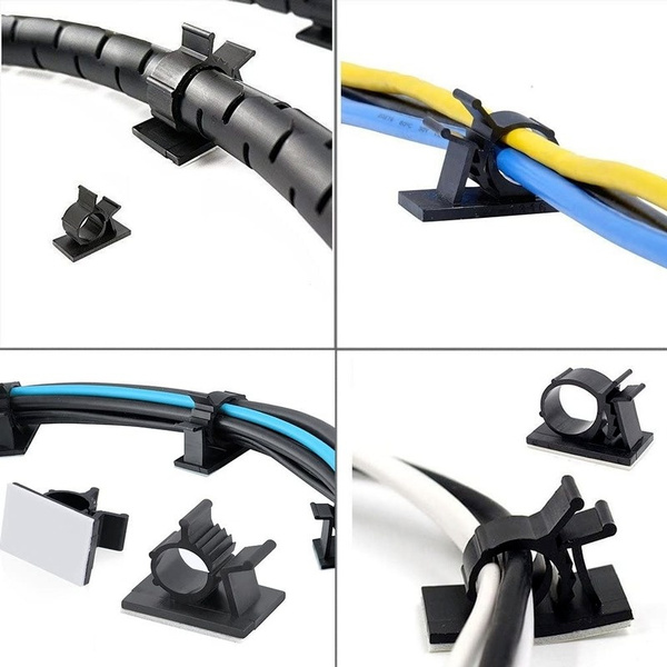 cableclip, cableholder, selfadhesive, wireholder