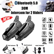 helmetintercom, Helmet, Earphone, Headset