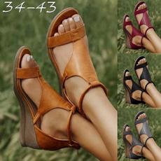 Summer, Sandals, Fashion, Vintage