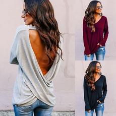 Fashion, Shirt, Sleeve, Womens T Shirts