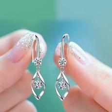 Tassels, Fashion, Dangle Earring, moissanite earrings