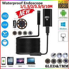 Webcams, borescope, led, usb