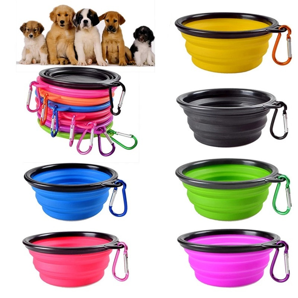 Outdoor, pet bowl, Silicone, Dog Products