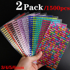 nail stickers, acrylicrhinestone, Colorful, Stickers