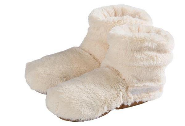 Ladies, Slippers, heatslippersladiescreamsize3742