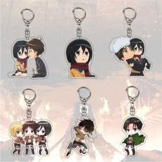 Anime & Manga, Key Chain, Jewelry, attackontitankeychain