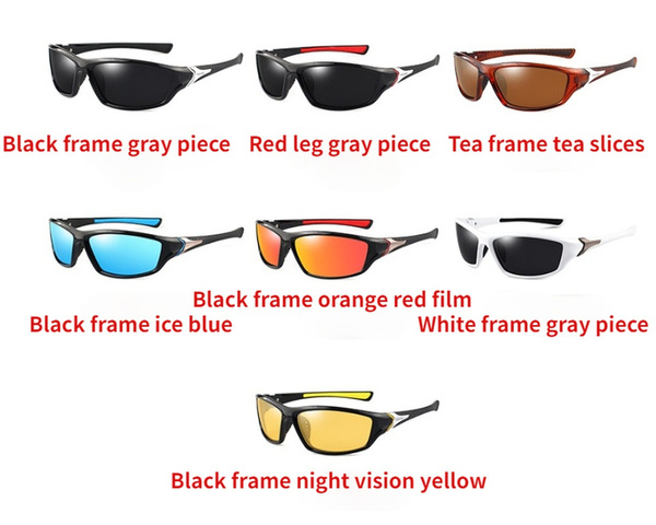 Sports Sunglasses, Cycling, Men's Fashion, fishing sunglasses