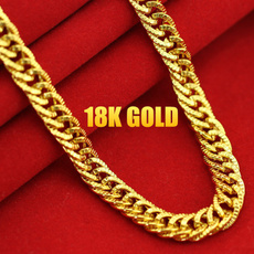 Chain Necklace, 18k gold, Jewelry, gold