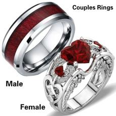 Beautiful, Sterling, Plus Size, wedding ring