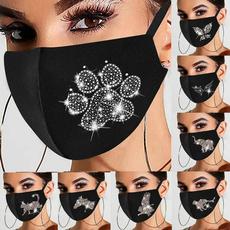 butterfly, animalfacemask, Glitter, dustmask