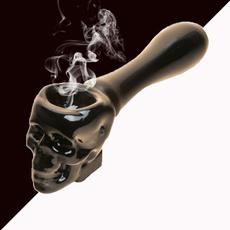 Mini, skull, tobacco, Glass
