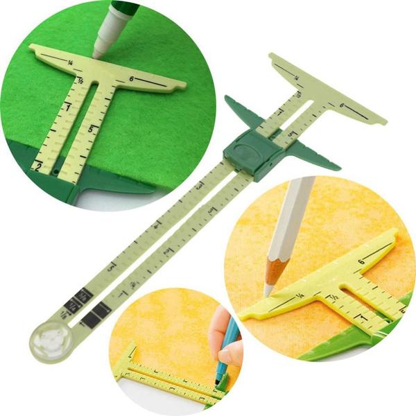 sewinggauge, Fabric, sewingtool, Home & Living