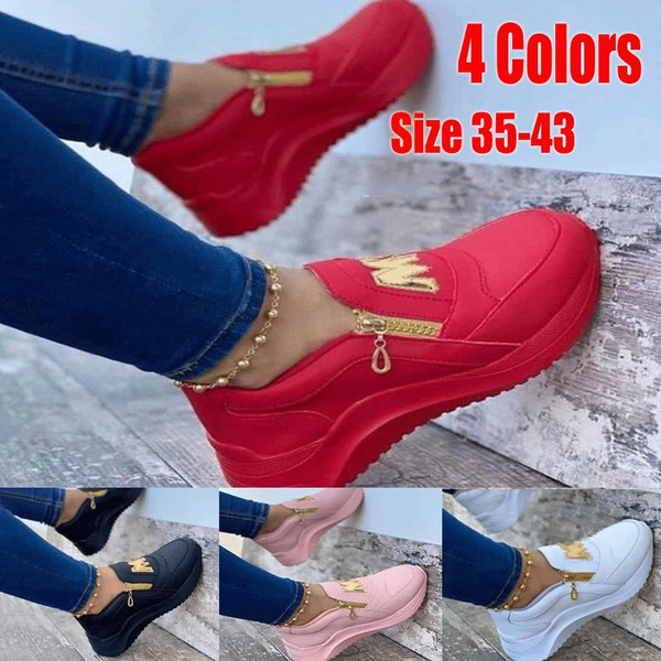 Sneakers, Plus Size, Womens Shoes, Sports & Outdoors