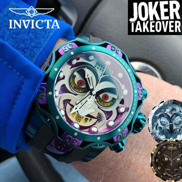 Steel, personalizedwatch, quartz, invictamenswatch